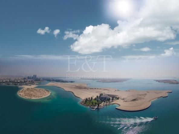 CORNER biggest plot near Al Bateen |100 % sea view