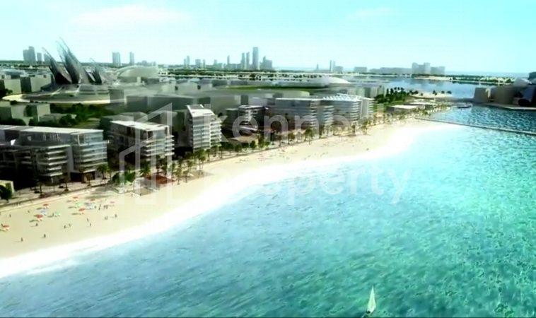No ADM Fees!! Full Sea View in Al Saadiyat Island