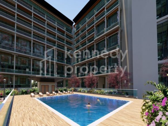 Spacious Layout I with Terrace I Pool View