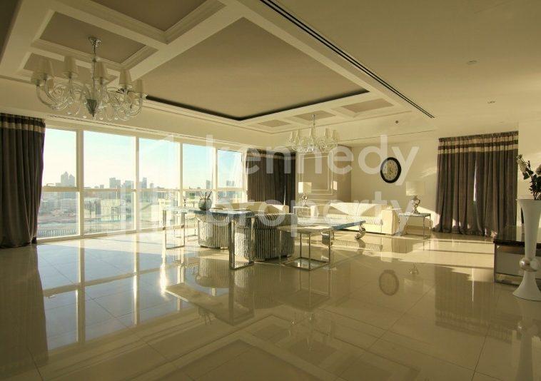 MUST SEE Sea view Large 4bed+M Luxury Apt MAG5