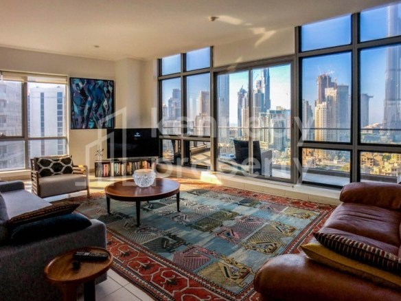 Burj Khalifa View | Best Layout | Fully-Furnished