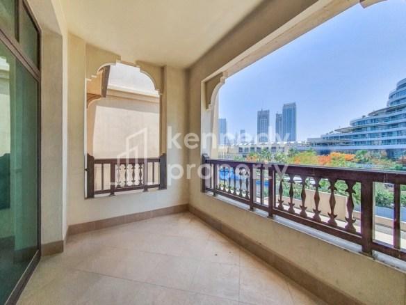 Near to Dubai Mall | Upgraded Interior | Huge Balcony