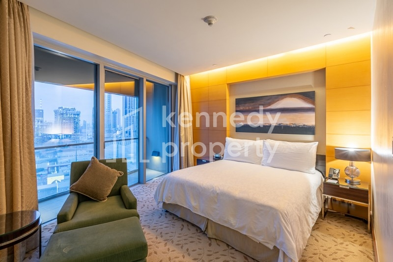 Serviced Apartment   Luxury Furniture   High-Floor