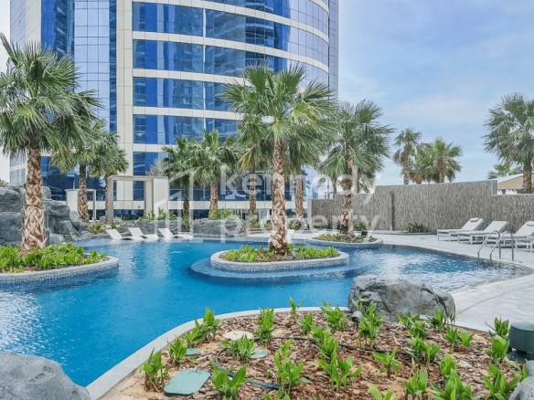 Fully Furnished | Business Bay View | High Floor