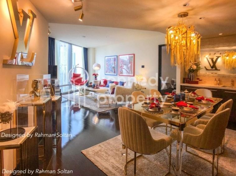 Luxurious   Impressive DIFC View   Maid's Room