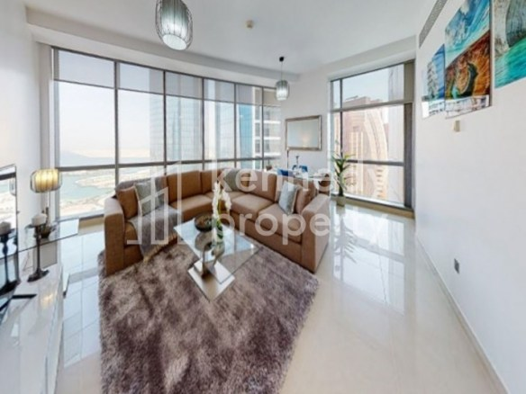 Fully Furnished | Partial Sea View | Large Layout