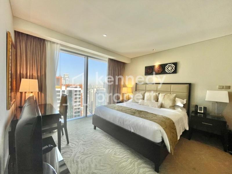 Fully Furnished I Serviced Apartment I Marina View