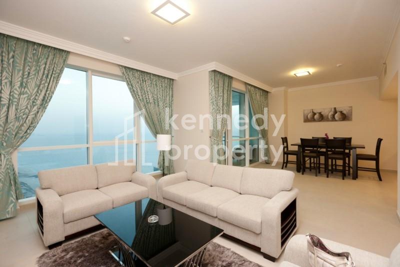 Sea View | High Floor | Private Beach Access