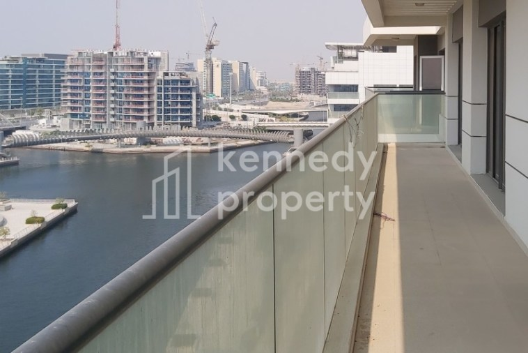 Canal View | Large Balcony | Modern Facilities