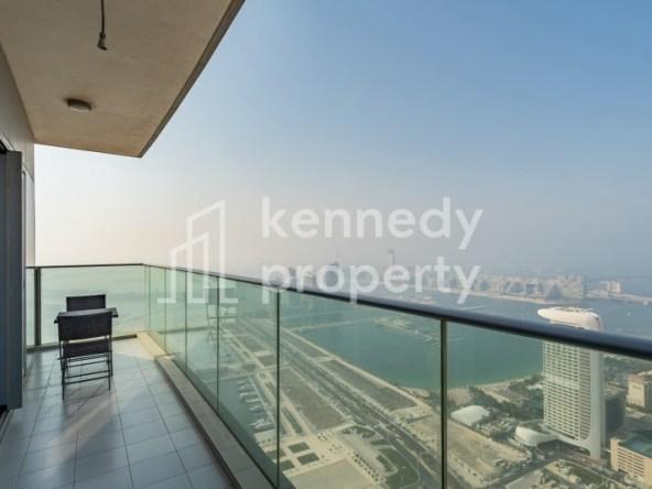 Fendi Furniture | Stunning Sea View | High Floor