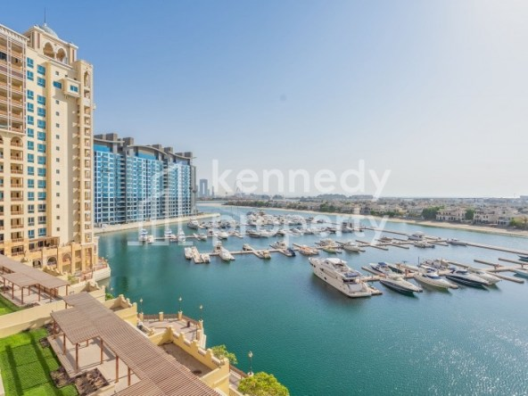 Stunning Marina View | Vacant | Well Maintained