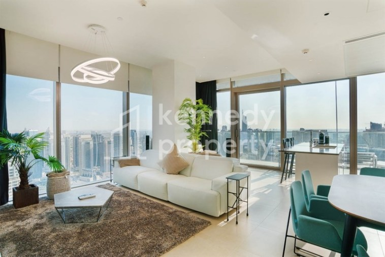 Fully Furnished | Full Marina View | High-Floor