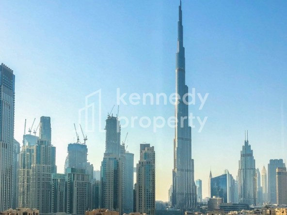 Spacious Layout   Canal and Burj View   Vacant