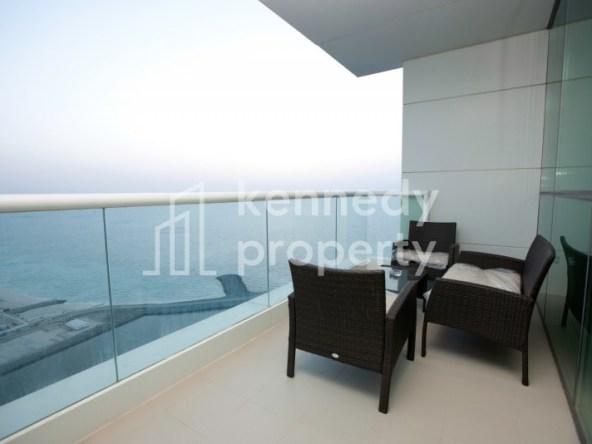 Full Sea View I Maids Room I Vacant I High floor
