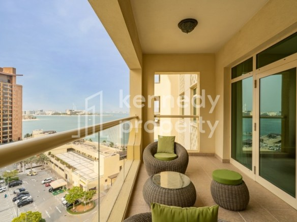 Sea View | Fully Furnished | Free Maintenance