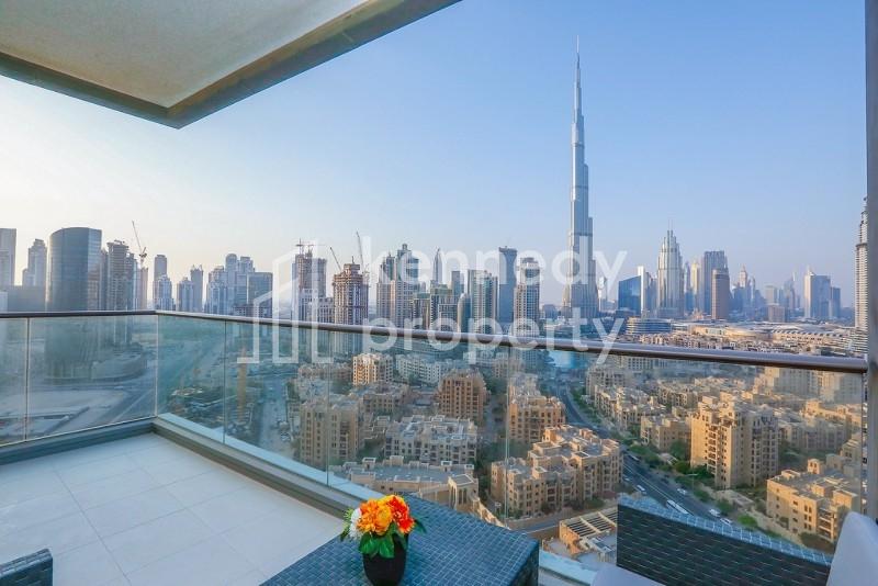 Burj Khalifa View   Well Maintained   Spacious